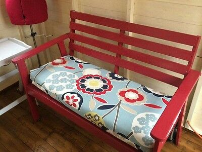 Made to measure bench cushion. Window seat cushion. Bench pad quote. FREE QUOTE.