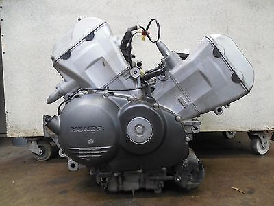 02 Honda VFR800 Strong Running COMP TESTED Engine Motor VIDEO LOW MILES 21740