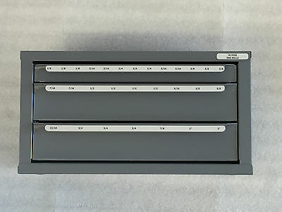 "Huot End Mill (Sizes 1/8"" To 1"")  Dispenser Storage Organizer Cabinet-13350""new"""
