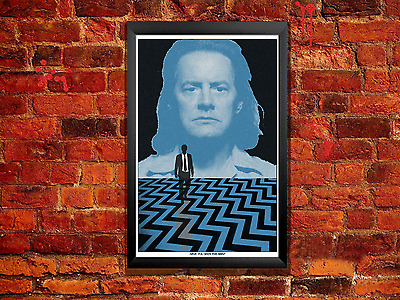 Twin Peaks Poster - Have You Seen This Man? Evil Cooper Doppleganger Blue Rose