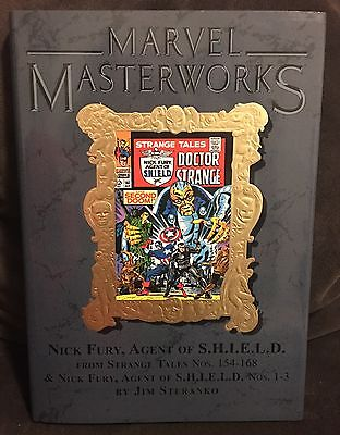 Marvel Masterworks 129 Nick Fury Agent of SHIELD Vol 2 Limited to 1161 HC 9.8