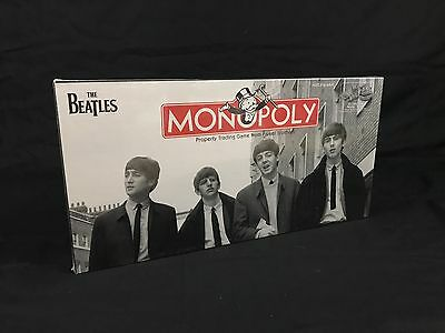 The Beatles 2008 Parker Brothers Hasbro Limited Monopoly Game Board Factory Seal