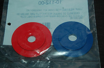 Polaris 10-112-00 UWF RESTRICTION DISK KIT RED & BLUE  W7230325 FREE SHIP