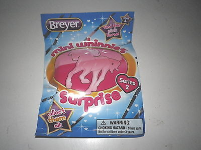 Breyer*Series 2*MINI WHINNIE*ONE (1) BLIND BAG*Free Shipping**BRAND NEW!!