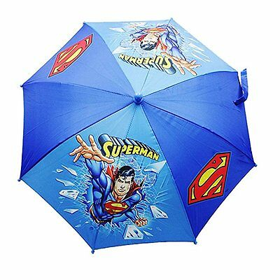 New DC Comics Superman Boys Umbrella -Blue