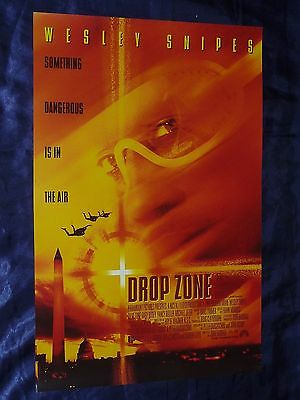 DROP ZONE Wesley SNIPES Gary BUSEY Original Australian Daybill Poster 13x20