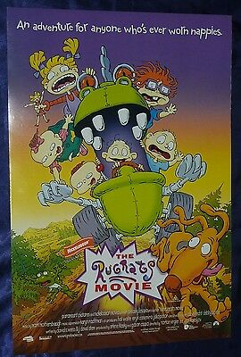 THE RUGRATS MOVIE Australian D/S Daybill Movie Poster 13x20