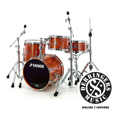 Sonor Ascent 4pc Jazz Kit + Hardware - Natural