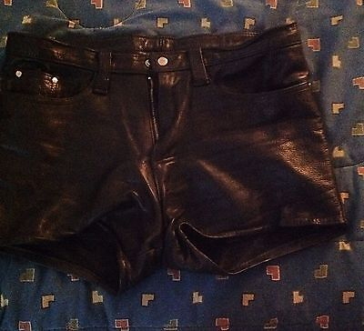 Leather Short Gay Punk Skinhead Fetisches