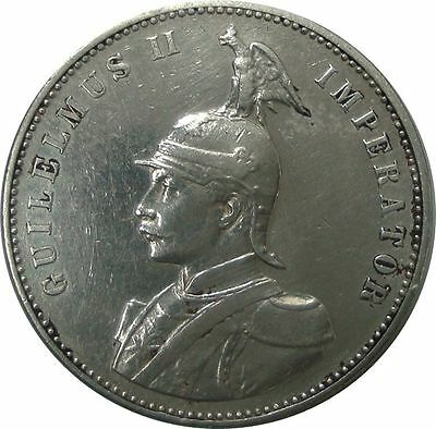 1906 J German East Africa - One Rupee - Silver Coin in Great Condition