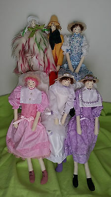 Collectible Handcrafted Dolls