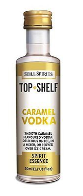 Still Spirits Top Shelf Spirit Essences CARAMEL VODKA