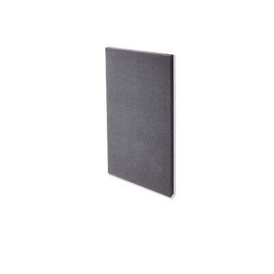 Pack 4 Panel reductor de ruido soporte mural 600x1200mm gris