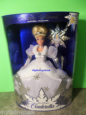 1996 Holiday Princess CINDERELLA  Doll  NRFB  #16090