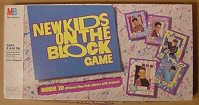 1990 New Kids On The Block Game From Milton Bradley