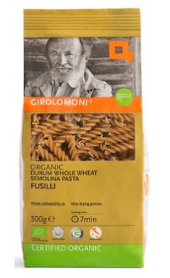 Girolomoni Whole Durum Wheat Semolina Fusilli 500g