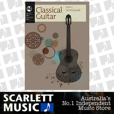 AMEB Classical Guitar Series 2 - Grade 2 ( Two / Second ) Book *BRAND NEW*