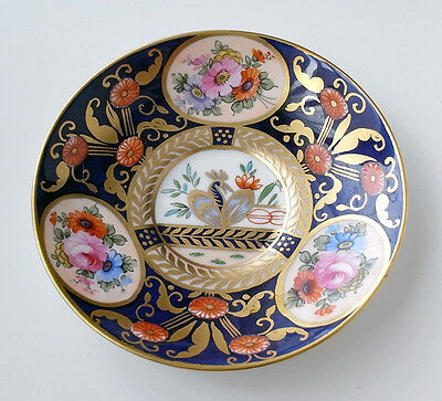 """Crown Staffordshire hand painted saucer  5.5"""""""