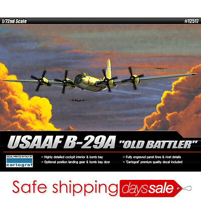 [BrandNew] ACADEMY 1/72 Plastic Model Kit USAAF B-29A OLD BATTLER