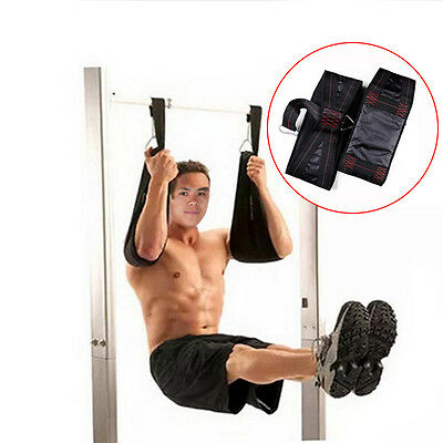 Fitness AB Sling Hanging Strap Heavy Abdominal Training Suspension Arm Belt