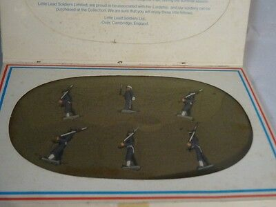 Little Lead Soldiers Royal Navy On Parade In Original Box
