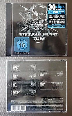 "Nuclear Blast clips  ""Vol. 1"" DVD NEW sealed"