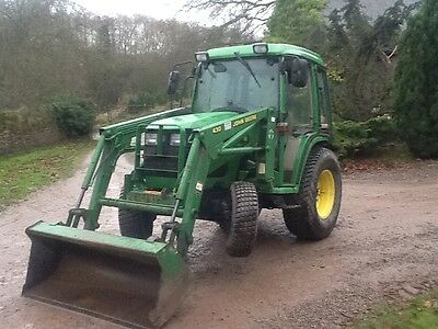 John Deere 4300 compact tractor with loader