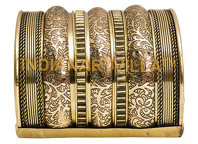 Handmade Brass Rare Designer Openable  Bracelete|Collectionable|Width 7.5 Cms