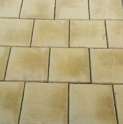 Concrete Paving Slabs Cotswold Buff 600 x 600mm