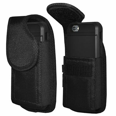 Vertical Case Cover Pouch Holster With Belt Clip For Large Cell Phone