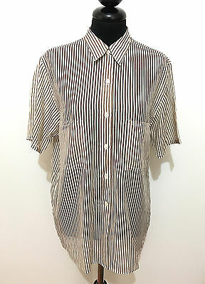CACHAREL PARIS VINTAGE '80 Camicia Donna Cotone Cotton Woman Shirt Sz.M - 44