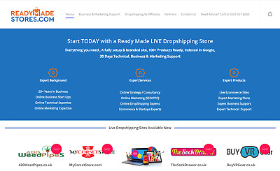 Custom Ecommerce Online Business in a Niche you Decide in 7 Days | Dropshipping