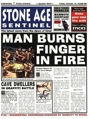 Stone Age Sentinel (Newspaper History) By Paul Dowswell, Fergus Fleming