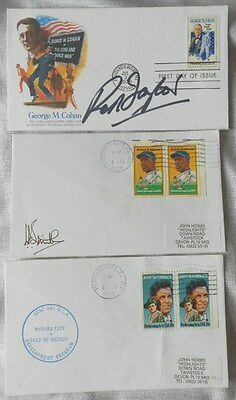 USA 3 covers - 2 signed by unknown - poss Smith & Taylor