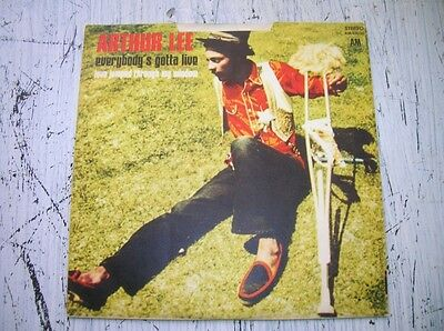 """Arthur Lee – Everybody's Gotta Live/love jumped..7""""Psychedelic Rock AM 45036"""