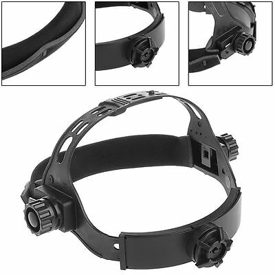 Adjustable Welding Welder Mask Headband Solar Auto Dark Helmet Accessories Black