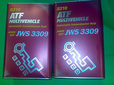 8L MANNOL ATF Multivehicle Getriebeöl G055025A1 BMW 7045E ETL 8072B LA2634