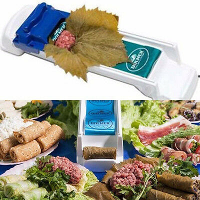 Stuffed Grape & Cabbage Leaf Rolling Tool Yaprak Sarma Dolmer Roller Machine New