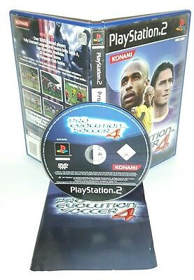 PRO EVOLUTION SOCCER 4 PES 2004 - Playstation 2 Ps2 Play Station Gioco Game