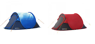 RCE001 Regatta MALAWI 2 Person Pop Up Tent FESTIVAL CAMPING MRP £80.00