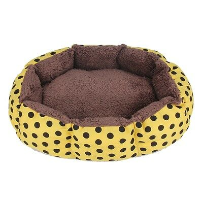 Soft Flannel Pet Dog Puppy Cat Warm Bed House Plush Cozy Nest Bed (INT)