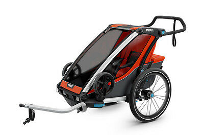 2017 Thule Chariot Cross Multi Sport Trailer ($50 Access. Credit included)