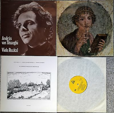 ULTRA RARE ANDRAS VON TOSZEGHI SWISS ONLY 3 LPs