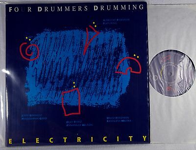 Four Drummers Drumming – Electricity LP NM