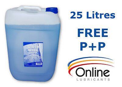 Screenwash Concentrate 25 L Ltr Litres Screen Wash For All Seasons -24C
