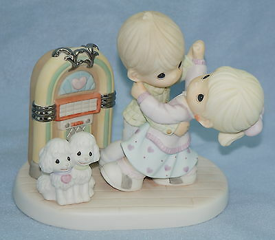 """RARE Precious Moments """"Rock Around The Clock"""" 710027 Numbered Limited Edition"""