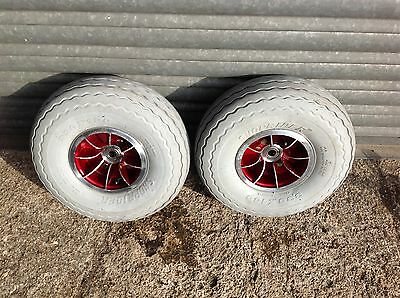 Shoprider Sprinter Wheels and Tyres Front Pair