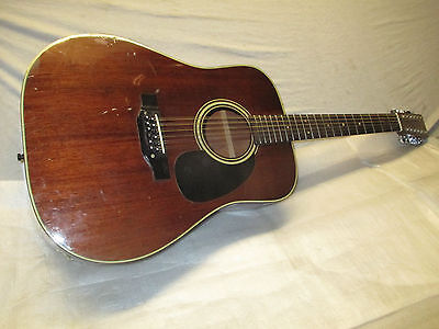 80's TAKAMINE 12 STRING WESTERN -- made in JAPAN