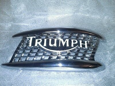 Brand New Triumph Fuel Tank Badges (Left&right)