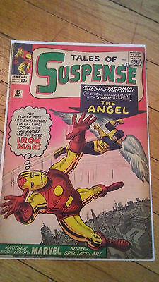Tales Of Suspense Vol 1, Issue #49 (Jan 1959, Marvel Comics)*Iron Man/The Angel